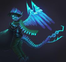 The Ice Quetzalcoatl Thief by Pheoniic