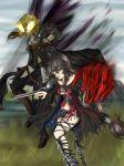 Charge into battle - Velvet and Eizen by Bcpupu