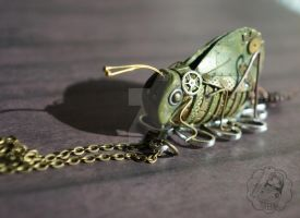 Mechanical Katydid by colourful-blossom