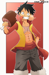 One Piece Film Z: Luffy by Kanokawa