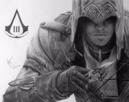 Connor Kenway by FromPencil2Paper