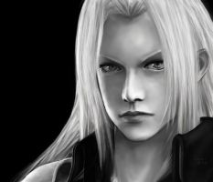 Final Fantasy VII, Sephiroth by SaoriAiko