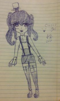 Circus gal!! by doglover947