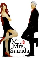 P4A : Mr and Mrs Sanada by dhurain