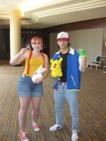 Ash and Misty Cosplay 3 by Hao-SamaFangirl