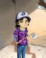 Clementine TWD by Crescendolls187