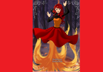Ariel The element of Fire by WDisneyRP-Wendy