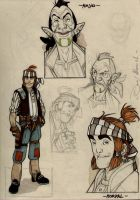 LPDE - sketches 1 - year 2001 by DenisM79