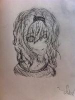 Seldom Drawing of a girl by SilentAndStanley