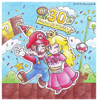 .:Happy 30th Anniversary!:. by CloTheMarioLover