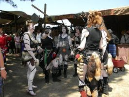 Warriors of the Renaissance Faire by Leena-A