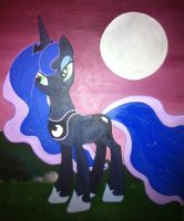 Luna painting by Blindfaith-boo
