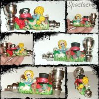 Alice in wonderland pipe by spaztazm