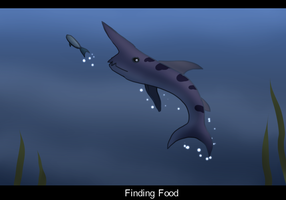 Bowie The Goblin Shark - Finding Food by SapphireSquire