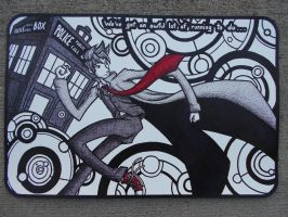 10th Doctor Mouse Pad by Jagarnot