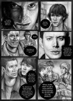 Supernatural FAN ART by Saidia