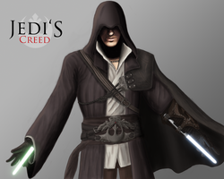 Jedi's Creed: Ezio Auditore by JackJasra