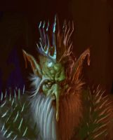 OLD GOBLIN KING by leebleeb