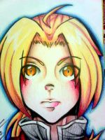 .: Print: Edward Elric :. by NerinSerene