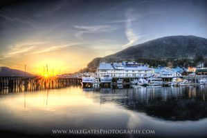 Ketchikan Sunset by Muskeg