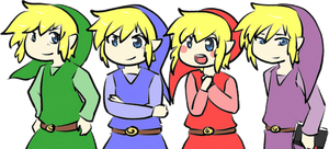 Four Swords Links by MemoriiMakiko