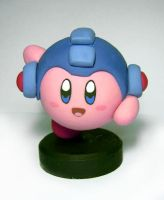 Kirby Megaman by vrlovecats