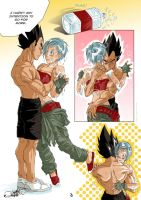 Fresh 03 - vegexbulma fancomic by nenee
