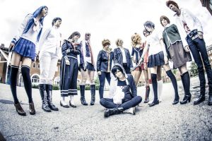 Dangan Ronpa - Surrounded by sundancekiid