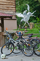Bikes and Dancing Horse by marrciano