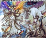 Page out of my sketchbook 2.0: Ragyo_Kiryuin by Hold-Your-Fire