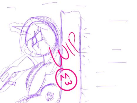 I'm Pinned Down WIP by LazySStorm