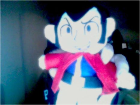 Lupin the 3rd plush by TheHylianHaunter