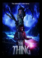 The Thing poster by smalltownhero