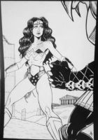 WONDER WOMAN pinup by phymns