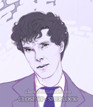 Sherlock Close up by RedPassion