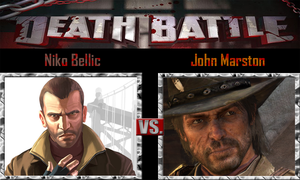 Niko Bellic vs John Marston by SonicPal