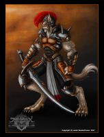 Lycan Knight - Colored by jerix