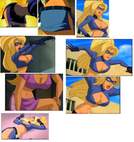 Stripperella - Collage by CristopherOS