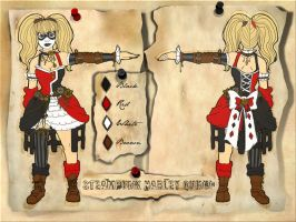 Steampunk Harley-Quinn Design by SnowFright