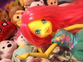 Fluttershy Equestria Girls Faceup by Puffleduck