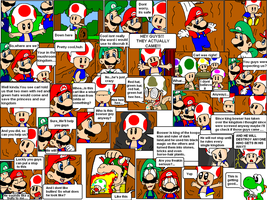 super mario bros page 6 by Nintendrawer