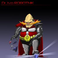 Doctor Ivo Robotnik by VladimirJazz
