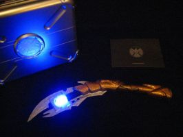 Loki Scepter Wand - Light Up Version by Thom-Heap