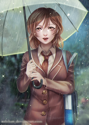 [Cm] The sweetness of the rain by Solchan