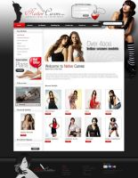 models website by designhood