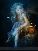 .:A Fairy In The Woods:. by Morteque
