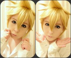 Len Kagamine Test by Michi-Fox