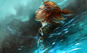 DA2 Anders and Justice by sandara
