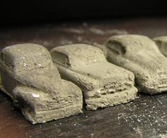 Concrete Cars by k4-pacific