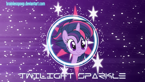 [MLP] Twilight Sparkle by BrainlessPoop